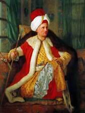 Dipinto ritratto DE favray ambasciatore francese costume TURCO ART PRINT hp1740