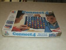 Connect 4 Game  - MB Games -1984 - Complete