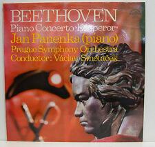 """Beethoven Piano Concerto no. 5 Emperor Jan Panenka Vaclav Smetacek 12 """" LP"""
