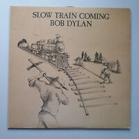 Bob Dylan - Slow Train Coming Vinyl LP + Inner UK 1st Press A2/B1 VG+/EX+