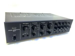 SANSUI AX-7 SOUND CONSOLETTE Audio Mixing Amplifier Vintage 1977 Hi End Like NEW
