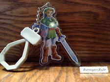 The Legend of Zelda Backpack Buddies Keychain Ocarina of Time Link