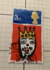Gb 1966 Christmas King of The Orient 3d Stamp