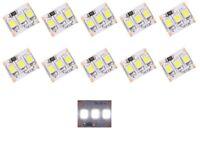 S414 - 10 Stück MINI LED Beleuchtung 1,25cm WEIß Häuser Waggons RC Modelle