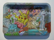 Rolling Tray Smoke Stash Accessories Trippy Pokemon Mash-Up Rick 5