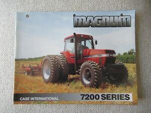 1993 CaseIH International 7200 series magnum tractor brochure