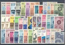 EU - EUROPA C.E.P.T. - 1967 complete year set MNH