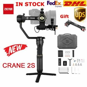 New Zhiyun Crane 2S 3-Axis Handheld Gimbal Stabilizer fr DSLR& Mirrorless Camera