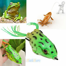 5.5cm Large Frog Topwater Fishing Lure Crankbait Hooks Bass Bait Tackle Outdoor