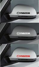 For Mazda - 2 x Wing Mirror - CAR DECAL STICKER - 2 3 6 MX-5 RX-8 100mm long
