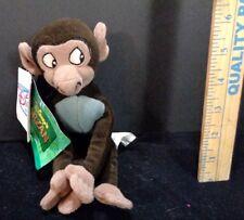 Disney Tarzan Baby Baboon Monkey Bean Bag Plush Beanie Doll Stuffed Animal Toy