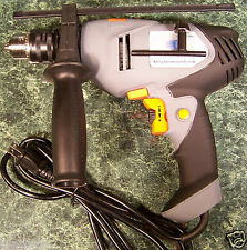 "1/2"" Electric IMPACT / HAMMER DRILL Variable Speed and Reversible with Level NEW"