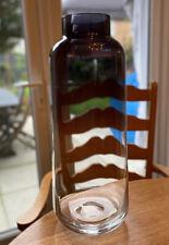 Conran For M&S Glass Vase Ombré Smokey Blue