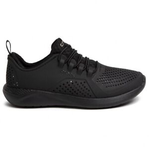 CROCS LITERIDE PACER K RELAXED FIT CASUAL SHOES Black
