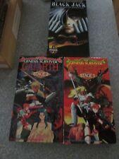 Genesis Surviver Gaiarth Stage 1 + 2 + Black Jack VHS Video Tape Sub/Dub