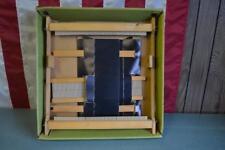 """Hobby Time Yarnbenders 15"""" Weaving Loom Vintage Nice! Yarn Craft"""