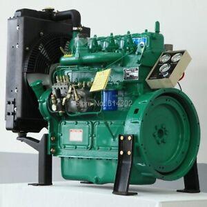 Diesel Generator 30.1KW Four Storks Military Portable Diesel Engine Kit For Home