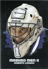 09/10 BETWEEN THE PIPES MASKED MEN II MASK SILVER #MM-35 ROBERTO LUONGO *44370