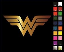 Wonder Woman Vinyl Decal / Sticker - Choose Color & Size - Batman, Superman