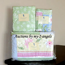 NEW Pottery Barn Kids Happy Daisy Floral Twin Quilt+Sham+Sheet Bedding Set GIRLS