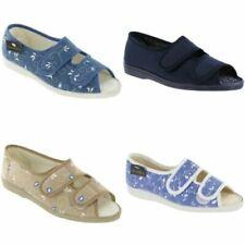 Sandali e scarpe pantofole, ciabatte blu per il mare da donna