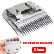 3.2mm #7FC Detachable Skiptooth Dog Clipper Blade Head Grooming For Andis 64121