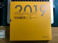 CHINA 2019-1 ALBUM 精裝年册 English Mini S/S Whole Year PIG FULL Stamps + 2020-1 Rat