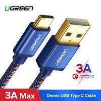 Ugreen USB C Type-C Charge rapide Câble de données pour Samsung S8 S9 OnePlus