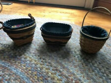 Longaberger 3 Collectors club combo's 1998, 2000, and 2004