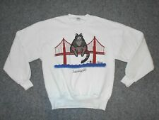 Kliban Cat Vintage 80'S San Francisco Golden Gate Bridge Small Sweatshirt J2