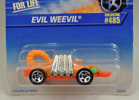 Hot Wheels Orange Pink Evil Weevil Car 16056 485 5SP New