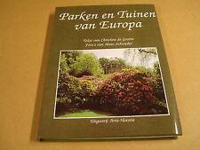 ARTISBOEK / PARKEN EN TUINEN VAN EUROPA