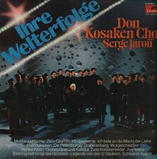 Serge Jaroff / Don Kosaken Chor Ihre Welterfolge (Club)  [LP]