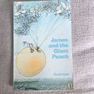 1974 James & The Giant Peach - Roald Dahl (Nancy Ekholm Burkert Illust)Puffin