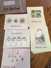 thank you postcards (43) 5 Different Succulent Pictures