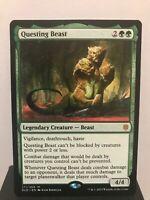 Questing Beast Throne of Eldraine Near Mint-Mint Magic MTG
