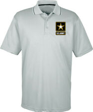 US Army Two Tone Polo Pocket Print