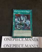 Yu-Gi-Oh! LED3-EN004 Rage with Eyes of Blue Super Rare 1st Edition (LED3-FR004)