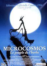"* CASSETTE VIDEO    ""MICROCOSMOS"
