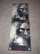 JIGSAW THE GAME CONTINUES 2018 DVD NEW AND SEALED