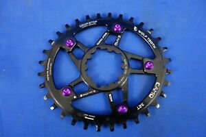 Wolf Tooth CAMO 32t Elliptical PowerTrac Chainring - Sram Direct Mount Spider