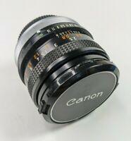 Canon FD 50mm f1.8 S.C. 35mm Manual Focus Lens