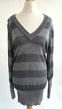 New Look V Neck Striped Jumpers & Cardigans for Women