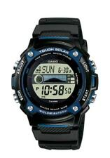 Casio Collection Solar Herrenuhr W-S210H-1AVEF Digital Schwarz