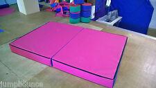 Pink Gymnastics Crash Mats, PVC  4' x 6' x 6inch  - Quality  V33H Foam FREE POST