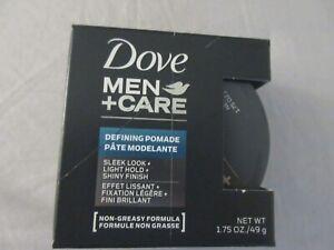 DOVE MEN+CARE DEFINING POMADE 1.75 OZ ~ SLEEK LOOK + LIGHT HOLD + SHINY FINISH