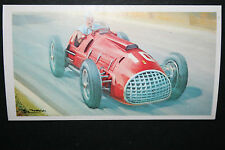 Ferrari V12  1950 Monza   Motor Racing Car   Illustrated Picture Card  CAT J