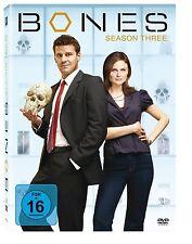 BONES Season 3 (4 DVDs) E.Deschanel, D.Boreanaz OVP