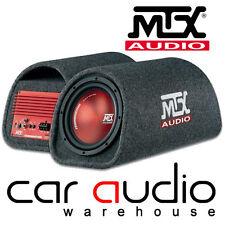 "MTX TR8PT Terminator 360W 8"" Active Sub Subwoofer Enclosure Box Car Bass Tube"
