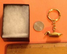 New solid brass Duck key chain must see! dynasty Oregon decoy